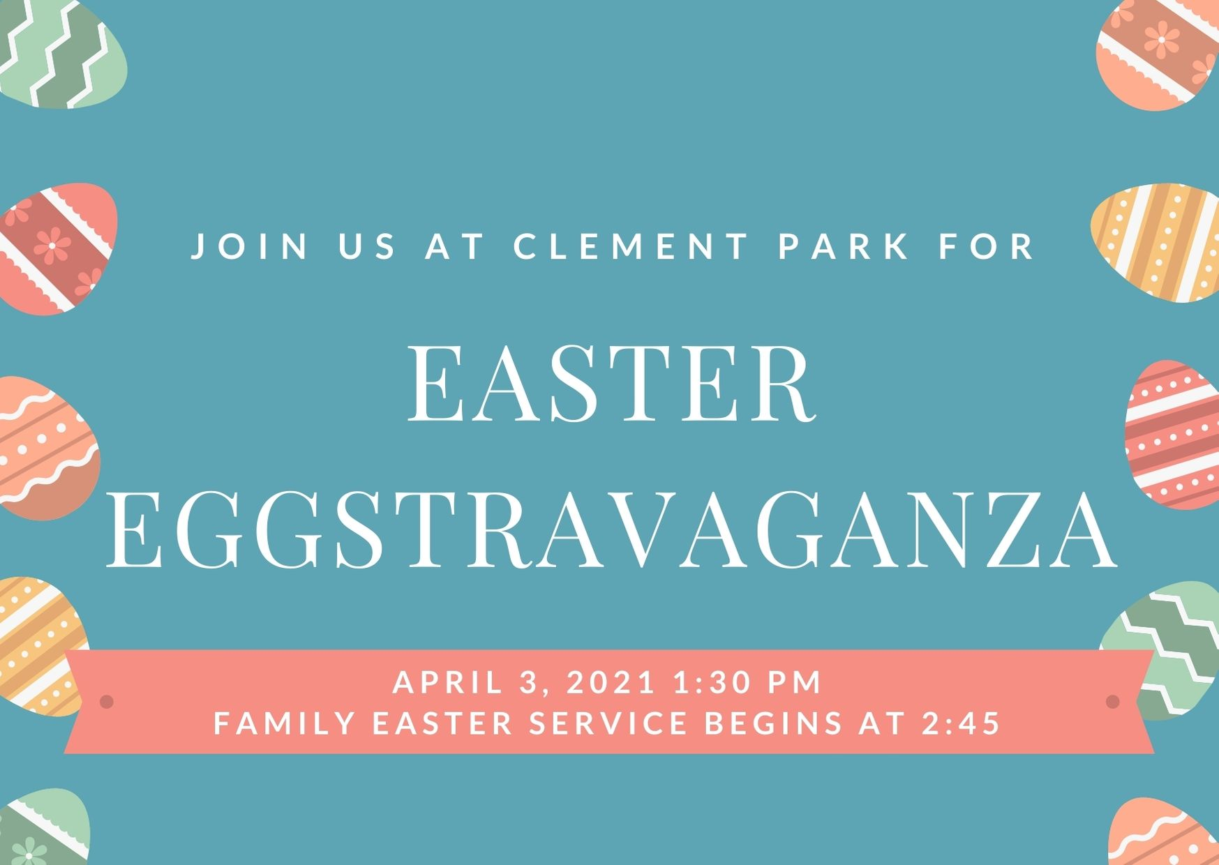 Easter Eggstravaganza April 3