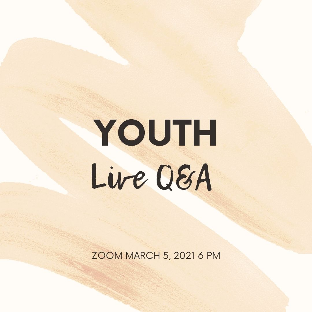 Youth Live Q & A (Mission Trip Fundraiser)