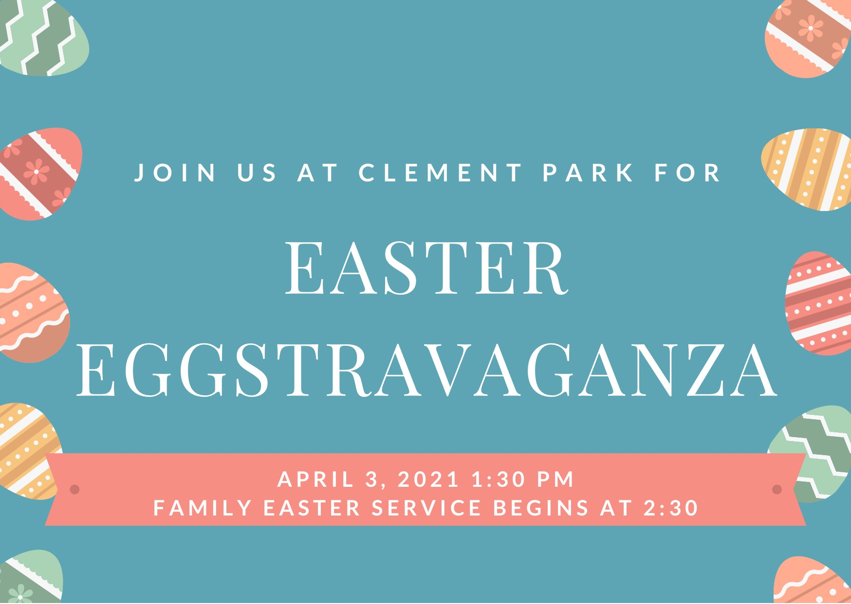Family Easter Events at Clement Park!