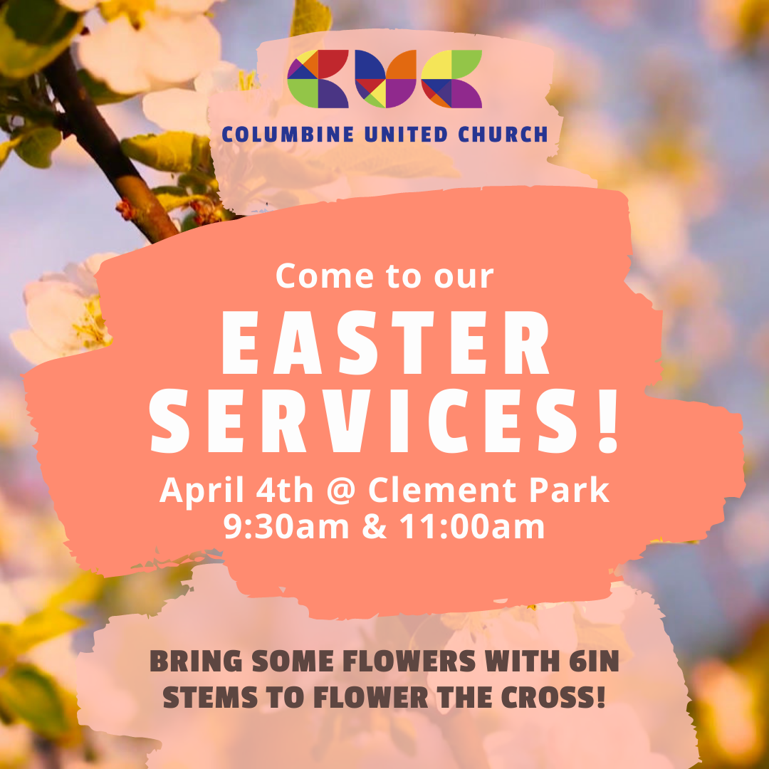 Easter Sunday Plans at Clement Park