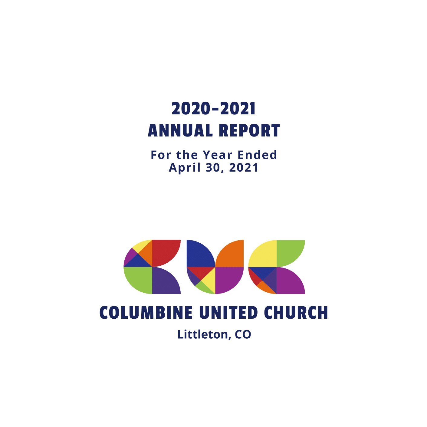 Annual Report & Annual Meeting Zoom